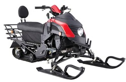 snowmobile snow sledge snow scooter