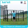 low price heavy duty medium size galvanized tubing dog kennels