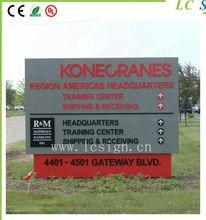 Outdoor Directory Yard Sign Metal board