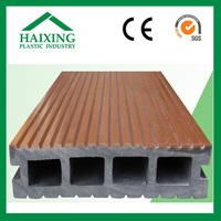 teak wood decking for floor CE,SGS,ani-UV PVC plastic for flooring wood plastic