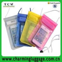 2014 Latest,OEM, china factory waterproof cell phone bag for promotion
