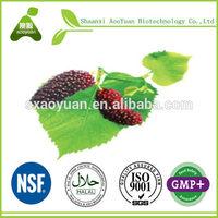 Manufacturer-Reduce blood sugar-Folium Mori,Ramulus Mori-Bulk powder-5%-25%HPLC-Supply COA-Mulberry Extract
