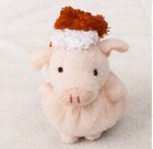 Hot Sale Cheap High Quality Soft Stuffed christmas pig custom plush