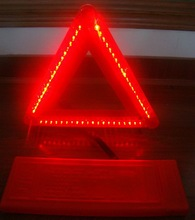 led triangle road signs