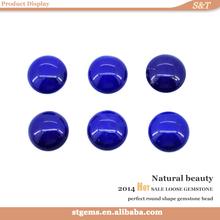 China manufacturer price round lapis lazuli cabochon gemstones