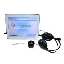 touch screen 3d body scanning machine health analyzer