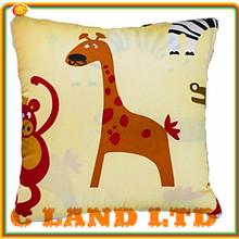 Stuffed Plush Animal Pillow Bright Color Cute Pillow
