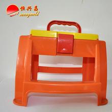 school light PP storage step stool eco-friendly stool plastic garden picnic stacking stool
