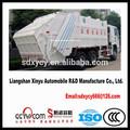2014 novo tipo braço oscilante caminhão de lixo caminhão de lixo herméticos