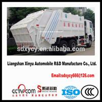2014 New type Swing Arm Garbage truck Hermetic Garbage Truck