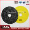 Suzhou diamond abrasive velcro polishing pad/7 inch diamond polishing pad