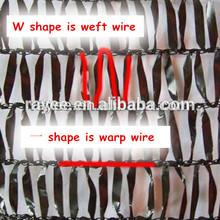 HDPE three knitted shade netting with UV tape yarn shade net /HDPE red para dar sombra