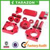MX Parts CRF 250 CNC Aluminum Billet Red Motocross Bling Kits