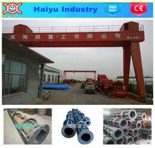 concreter pole mould concrete pole machine for power distribution