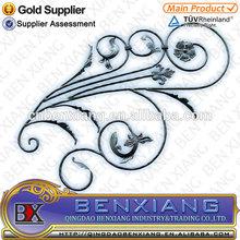 decorative iron gates wrought iron components metal rosettes