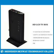 Smart HD LCD TV Box with IR Remote , HD LCD TV tuner Box