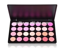 wholesale professional 28 color natural blusher palette , 28 color natural blusher