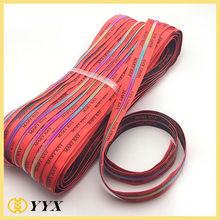 wholesale woven logo tape customized zipper with logo