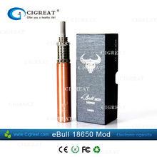 buy amazing gold gift box ebull mod 18650 electronic cigarette from alibaba china