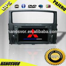 HANOSVOR Double Din Touch Screen Car Radio Audio GPS Navigation System DVD Player for Mitsubishi Pajero V93 V97