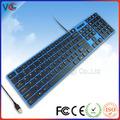 Vmq-20 directa de la fábrica de color usb teclado del ordenador portátil de la imagen