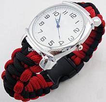 Parachute cord strap watch fashion watches 2012