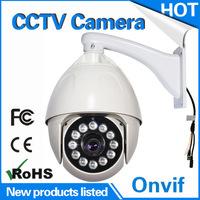 Outdoor 7inch PTZ waterproof high speed analog 700TVL/800TVL/900TVL dome serveillance cctv camera manufacturer