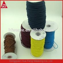 High elasticity Round elastic rope, elastic cord