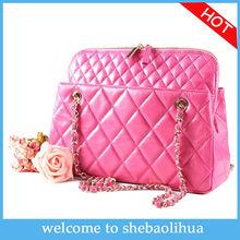 Wholesale woman handbag fashion classic sheepskin shoulder bags