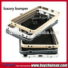 luxury aluminum bumper case for samsung galaxy note 4