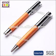orange Metal Mechanical Ball Point Pen