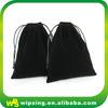 Shenzhen wholesale gift bags drawstring velvet gift bags