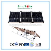 Hot sell , High quality 120w portable folding solar panel generator