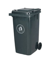 100L plastic dustbin waste bin