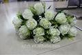 18 hermosas rosas artificiales, bouquet de eva rose