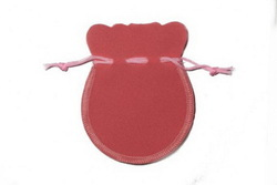 High quality most popular cheap custom fashionable velvet pouch