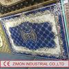 2014 new cheap fashion guangzhou blue color carpet tile interlocking carpet tiles washable carpet tiles