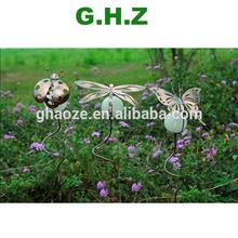 3pcs per set Glow In The Dark Garden Ball Light Garden Stake Ornament Factory