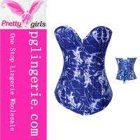 Sexy Blue Jean Corset,Sexy XXXL,Sexy Tops For Women XXXL