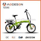 Mini alloy frame cheap e-bike-TZ181small bikes,model folding bicycles