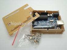 ATMEGA328P-PU UNO R3 Enclosure Transparent Case Clear For Arduino
