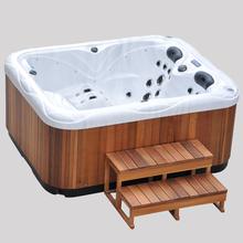 2-3 person indoor/outdoor crylic tube JCS-61spa bathtub