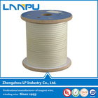 ISO Certificated class 180 fiber glass coated wire for transformer