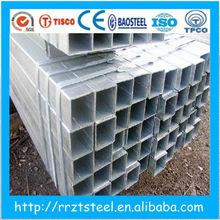 pressure resistant pipe /galvanized steel tube gates /rectangular stair handrail