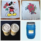 High fastness water base polyester printing lacquer