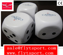 New Design Anti Stress Ball PU Foam Dice Toy