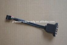 USB Cable adaptor 17.5 cm 2CH w/guard hole No. 10P
