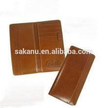 custom PU leather passport cover
