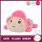 2015 hot sales cute pink stuffed baby lambs wholesale