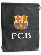 football club promotional drawstring backpack bags sport shoes bag